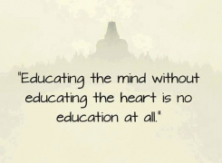 Educate the heart of your child